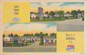 South Carolina Walterboros Lanes Tourist Court