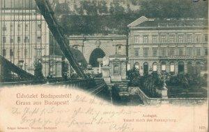 Hungary Budapest Azalagut Tunnel 04.63