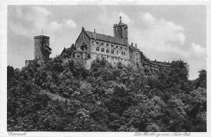 Eisenach Die Wartburg vom Sued-Ost