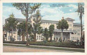 Hotel Alabama, Winter Park, Florida, early postcard, unused