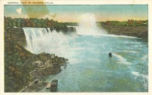 General view of Niagara Falls, from Canadian Side, early ...