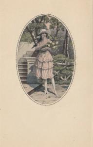 ART DECO ; MESCHINI ; Female portrait #3, 1910-30s