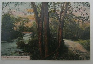 Lovers Walk Bushkill PA Artino K3972 Unposted