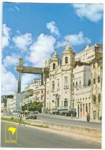 Brazil, Brasil, Salvador BA, Nossa Senhora da Conceicao Church, Lacerda Elevator