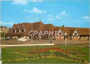 Modern Postcard Deauville Trouville railway station (Norman)