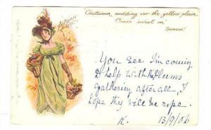 Woman, Autumn, PU-1906