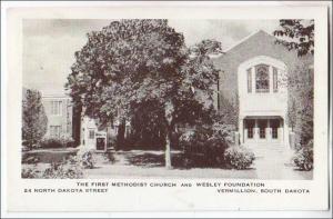 First Methodist Church & Wesley Foundation, Vermillion SC