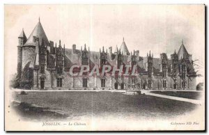 Old Postcard Josselin Le Chateau