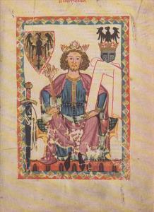 Minnesinger Miniatures Kaiser Heinrich VI Medieval Art Germany