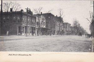 Pennsylvania Stroudsburg Main Street sk806