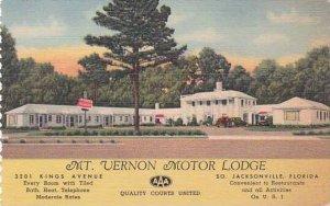 Florida Jacksonville Mount Vernon Motor Lodge