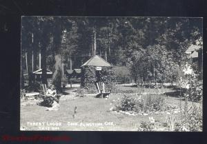 RPPC CAVE JUNCTION OREGON FOREST LODGE VINTAGE REAL PHOTO POSTCARD