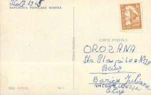 Romania Baile Herculane Vedere generala panoramica Postcard