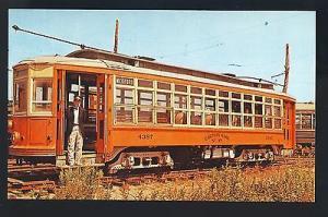 Kennebunkport, Maine/ME Postcard, Eastern Mass. Trolley,