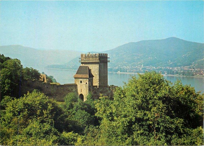 Postcard Hungary Visegrad Lakotorony XIII century