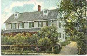 Humphrey House, Oldest House in Swampscott, Massachusetts, MA, Divided Back