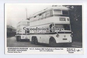 pp2108 - B.C.T. Sunbeam MS2 Trolleybuses at Queens Park. - Pamlin postcard