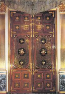 Russia Moscow Kremlin The Terem Palace Door of the Empress Study
