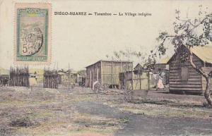 Madagascar Diego Suarez Tanamboo Le Village indigene 1910