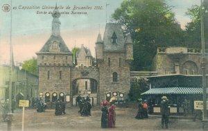 Belgium Brussels Bruxelles Exposition de Bruxelles 1910 Entrée 06.78