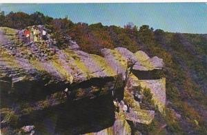 Tennessee Chattanooga View Of the Observation Point In Beautiful Rock City On...