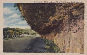 Overhaning Bluffs On Prize Drive U S 71 Noel Missouri 1948