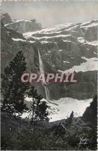 Modern Postcard Gavarnie Great Waterfall (422m high)
