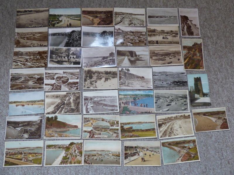 bu0124 - Paignton , Devon - 39 postcards - All Showing