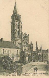 SAINT-PERE-SOUS-VEZELAY , France , 1900-10s ; L'Eglise