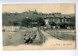 191363 SWITZERLAND PULLY Lac Leman Vintage postcard
