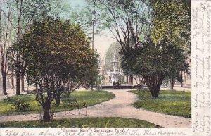 New York Syrause Forman Park 1911