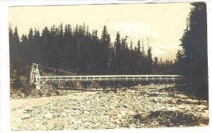RP, Swinging Foot Bridge, Eagle Points Trail National Park, Washington, PU-1914