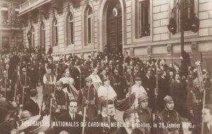RP: BRUXELLES , Belgium, 1926 ; Funeral of Cardinal Mercier