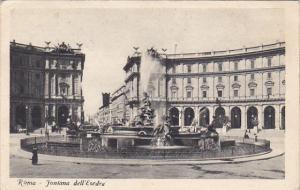 Italy Roma Rome Fontana dell'Esedra
