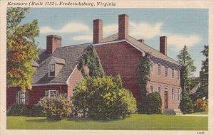 Kenmore Fredericksburg Virginia 1952