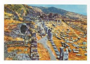 Turkey Bergama Pergamon Gymnasium Greco Roman Ruins 4X6