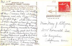 Seigniory Club Quebec 1967