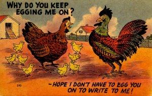 Humor - Egging Me On