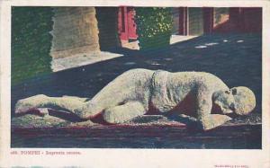 Impronta Umana, Pompei (Campania), Italy, 1910-1920s
