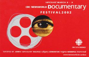 Advertising Canada CBC Newsworld Documentarey Festival 2002