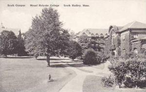 Massachusetts South Hadley Mount Holyoke College The South Campus Albertype