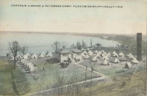 Mississippi Valley , 1900-10s ; Carnegie Library & Refuggee Camp
