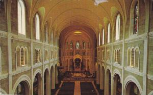 Cathedrale Interior , Edmundston , New Brunswick , Canada , 1950-60s