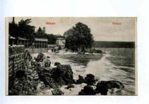 192766 Croatia Opatija ABBAZIA Sirocco Vintage postcard