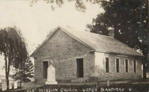 RP: UPPER SANDUSKY , Ohio, 1900-10s ; Old Mission Church