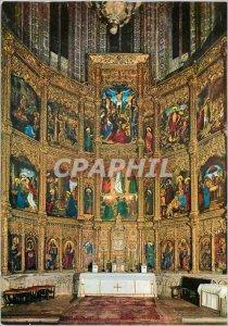 Modern Postcard Altarpiece of Avila Altar Master of the Cathedral
