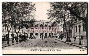 Nimes - Boulevard Victor Hugo - Old Postcard