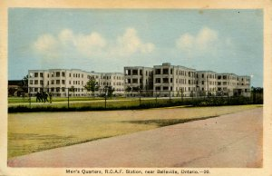 Canada - Ontario, Belleville. Royal Canadian Air Force Station, Men's Quarters