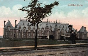 Drill Hall, Quebec, Canada, Early Postcard, Unused