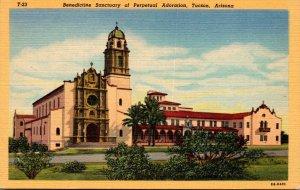 Arizona Tucson Benedictine Sanctuary Of Perpetual Adoration Curteich